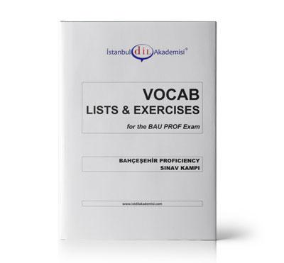 BAU PROFICIENCY VOCAB LISTS & EXERCISES