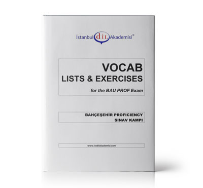 BAU PROFICIENCY VOCAB LISTS & EXERCISES