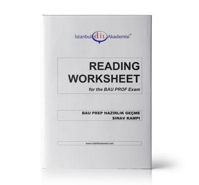 BAU PROFICIENCY READING WORKSHEET