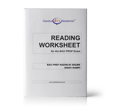 BAU PROFICIENCY READING WORKSHEET