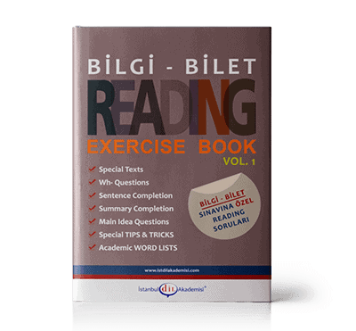 BİLGİ - BİLET READING EXERCISE BOOK VOL. 1