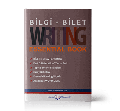 BİLGİ - BİLET WRITING ESSENTIAL BOOK