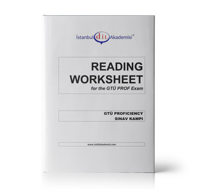 GTÜ PROF READING WORKSHEET