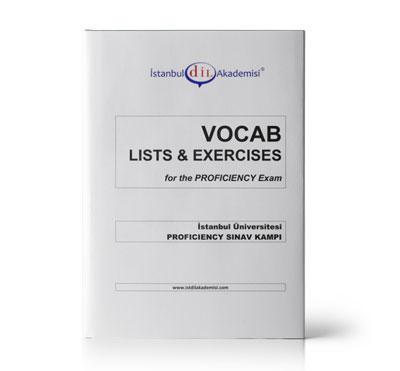İÜ PROFICIENCY VOCAB LISTS & EXERCISES