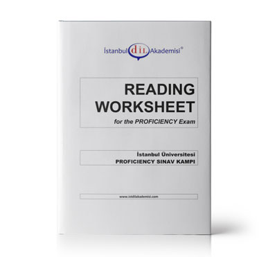 İÜ PROFICIENCY READING WORKSHEET