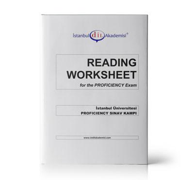 İÜ PROFICIENCY READING WORKSHEET