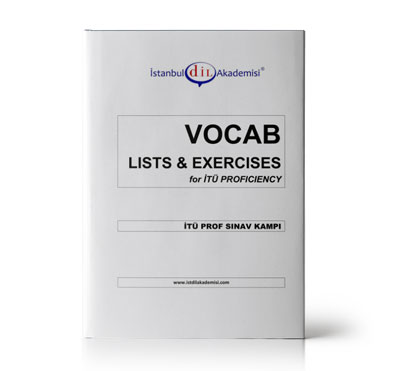 İTÜ PROF SINAV KAMPI VOCAB LISTS & EXERCISES