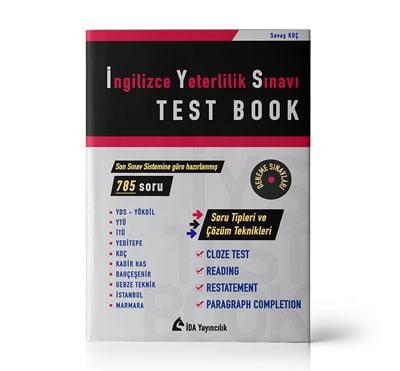 İngilizce Yeterlilik Sınavı Test Book