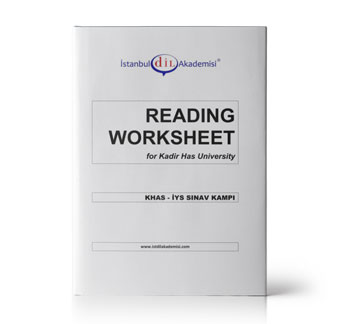 KHAS - İYS READING WORKSHEET