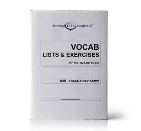 TRACE SINAV KAMPI VOCAB LISTS & EXERCISES