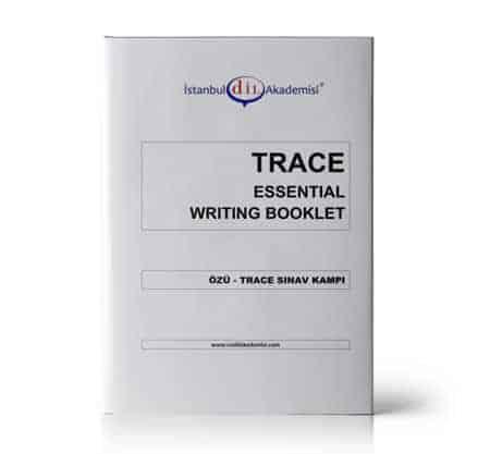 TRACE SINAV KAMPI ESSENTIAL WRITING BOOKLET