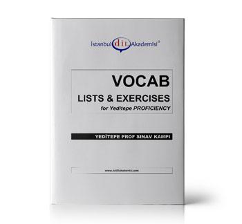 YEDİTEPE Proficiency VOCAB LISTS & EXERCISES