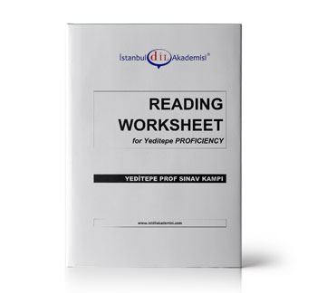 YEDİTEPE PROFICIENCY READING WORKSHEET