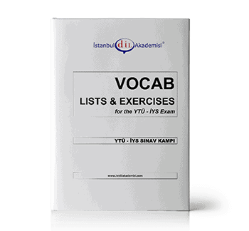 İYS SINAV KAMPI VOCAB LISTS & EXERCISES