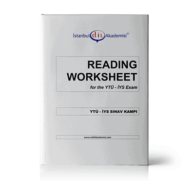 İYS SINAV KAMPI READING WORKSHEET