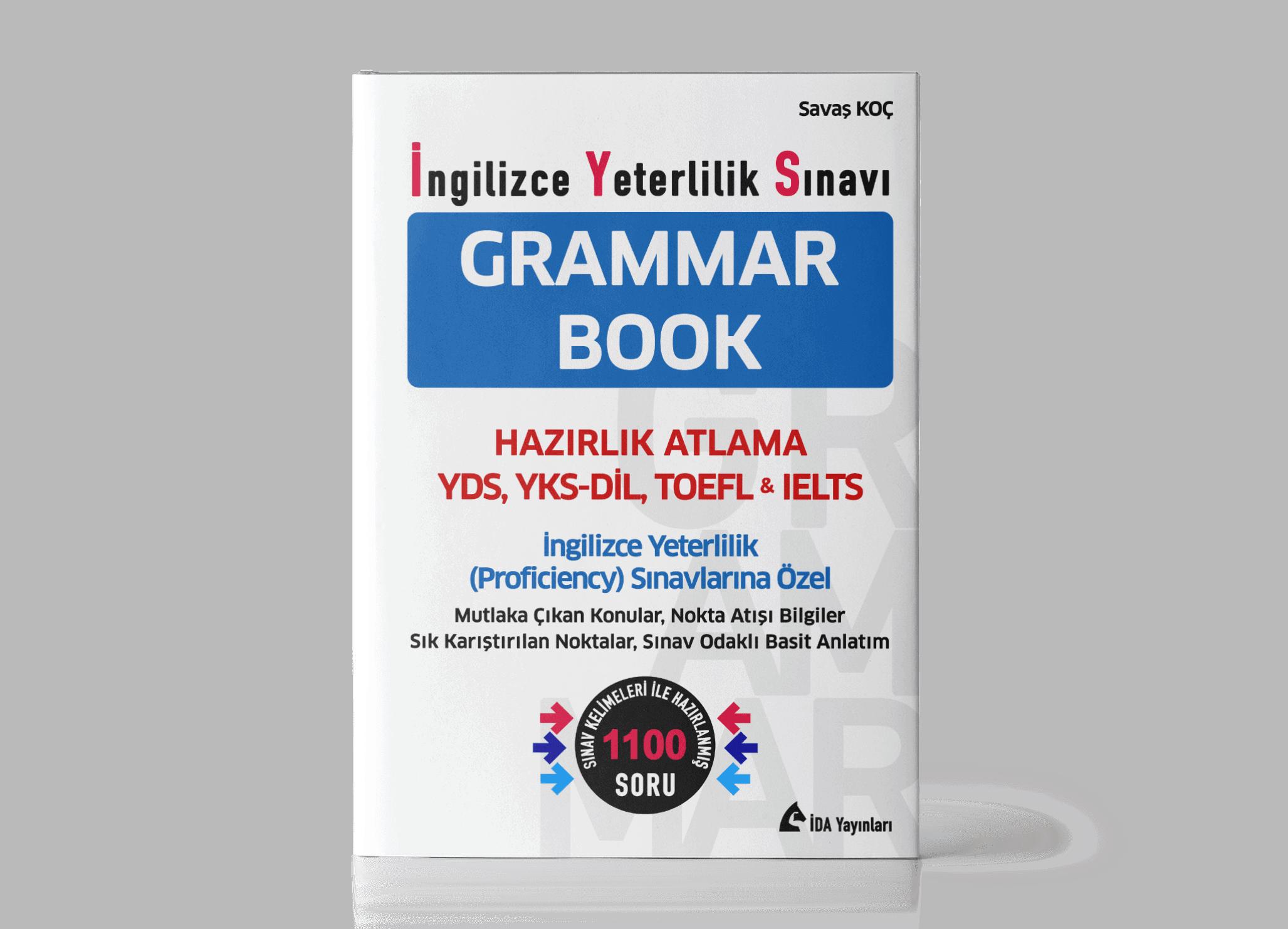 İYS GRAMMAR BOOK Yayında!!