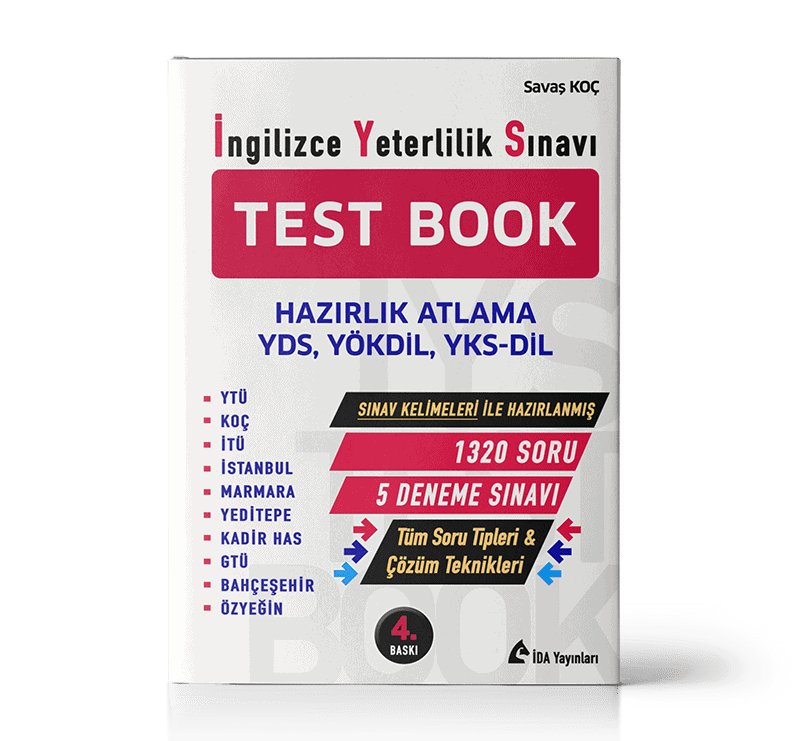 İNGİLİZCE YETERLİLİK SINAVI (İYS) TEST BOOK